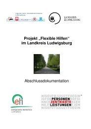 1 Deckblatt und Vorwort - Landkreis Ludwigsburg