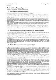 Merkblatt Tagespflege für Tagespflegepersonen - Landratsamt ...