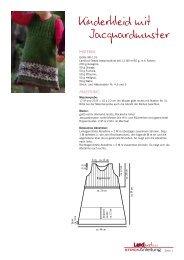 Kinderkleid mit Jacquardmuster - Landlust