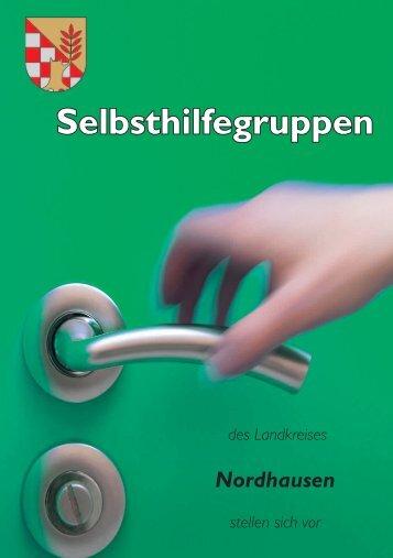 Broschüre Selbsthilfegruppen - Landratsamt Nordhausen