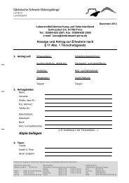 Antrag gemäß §11 Tierschutzgesetz [Download,*.pdf, 0,13 MB ]