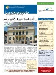 Landkreisbote Nr. 03 vom 13.03.2013 - Landkreis Sächsische ...