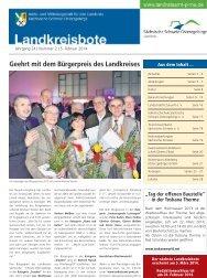 Landkreisbote Nr. 02 vom 05.02.2014 [Download,*.pdf, 5,07 MB ]