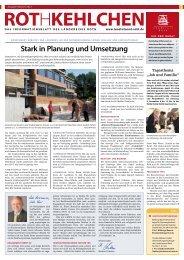 Stark in Planung und Umsetzung - Landratsamt Roth