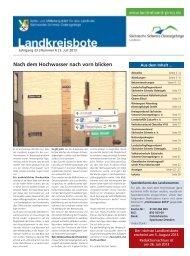 Landkreisbote Nr. 06 vom 03.07.2013 - Landkreis Sächsische ...