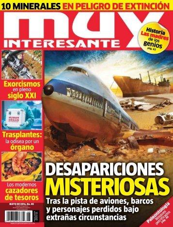 Revista Muy Interesante Mexico -  Mayo 2014