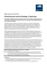 Medienmitteilung vom 10. Mai als PDF - Landschaftspark Binntal