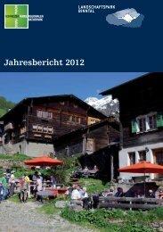 Jahresbericht 2012 (PDF), 1,7 MB - Landschaftspark Binntal