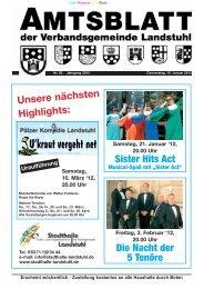 Unsere nächsten Highlights: Sister Hits Act Die Nacht der 5 Tenöre