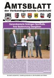 Amtsblatt Nr. 36/2013 vom 04.09.2013 - Verbandsgemeinde Landstuhl