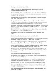 Sickingen – Literaturliste Stand 1998 Alsenz, C. von der: Ein ...