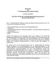Resolution - Landtag Mecklenburg Vorpommern