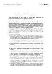 Drucksachen allgemein - Niedersächsischer Landtag