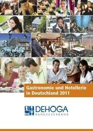 Gastronomie und Hotellerie in Deutschland 2011 - DEHOGA ...