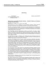 Niedersächsischer Landtag – 17. Wahlperiode Drucksache 17/351 ...