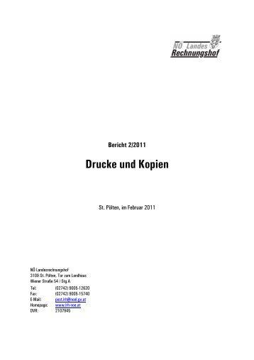 Drucke und Kopien (2/2011)