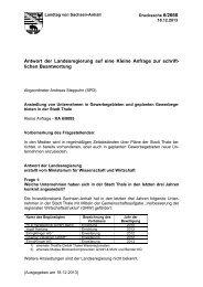 Drs. 6/2668 - Der Landtag von Sachsen-Anhalt