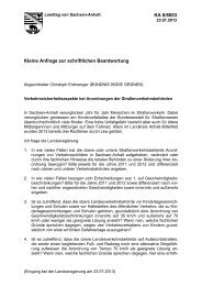 BÜNDNIS 90/DIE GRÜNEN - Der Landtag von Sachsen-Anhalt