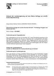 Nahverkehrsverträge des Landes Sachsen-Anhalt II - Der Landtag ...