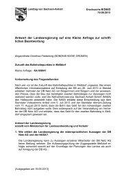 Drs. 6/2443 - Der Landtag von Sachsen-Anhalt