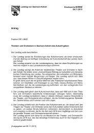 Drs. 6/2552 - Der Landtag von Sachsen-Anhalt