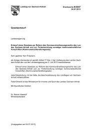 Drs. 6/2247 - Der Landtag von Sachsen-Anhalt