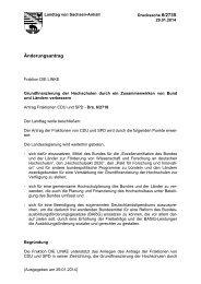 Drs. 6/2735 - Der Landtag von Sachsen-Anhalt
