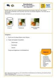 Karottentest - Infodienst - Landwirtschaft, Ernährung, Ländlicher Raum