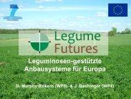 Leguminosen-gestützte Anbausysteme für Europa