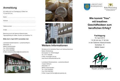 Programm - Infodienst - Landwirtschaft, Ernährung, Ländlicher Raum