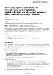 Bioabfallverordnung (BioAbfV)