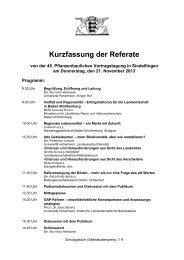 45. Pflanzenbauliche Vortragstagung in Sindelfingen am 21-11 ...