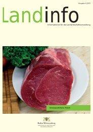 gesamte Ausgabe als Download - Infodienst - Landwirtschaft ...