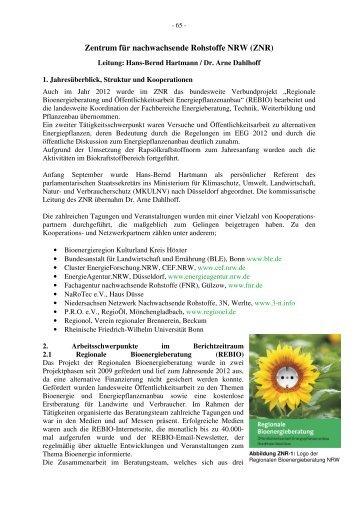7_ Jahresbericht HD 2012 - Landwirtschaftskammer Nordrhein ...