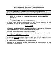 15. Mai 2013 - Landwirtschaftskammer Nordrhein-Westfalen