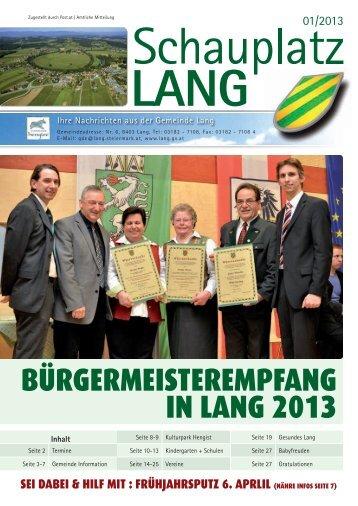 Gemeindezeitungen - gemeinde-lang
