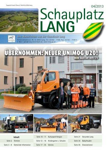 Dezember 2013 - gemeinde-lang