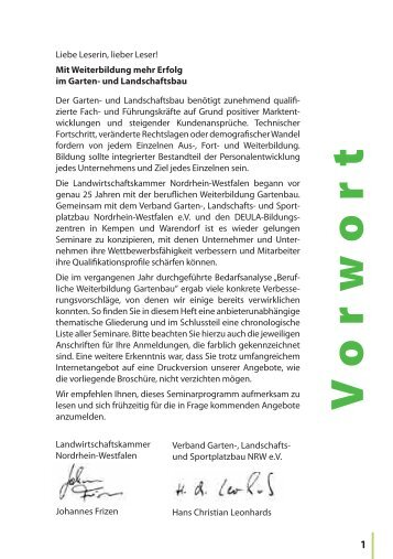 Seminarprogramm GaLaBau 2014 - Landwirtschaftskammer ...