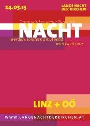 Region Linz - Lange Nacht der Kirchen