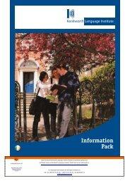 7.5 MB Kenilworth Language Institute Brochure (PDF)