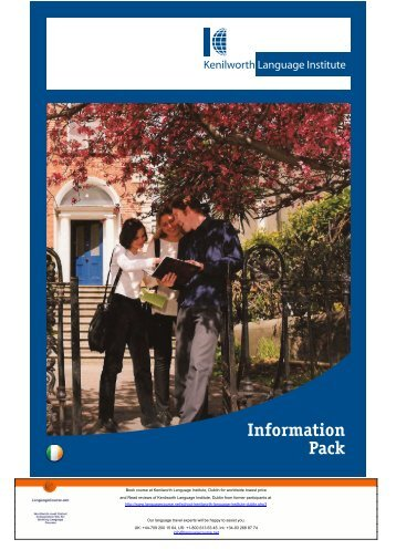 7.5 MB Kenilworth Language Institute Brochure (PDF)