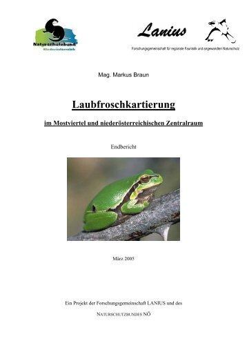 Projekt Laubfrosch - LANIUS
