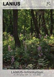Heft 1-2 Juni 2012 - LANIUS