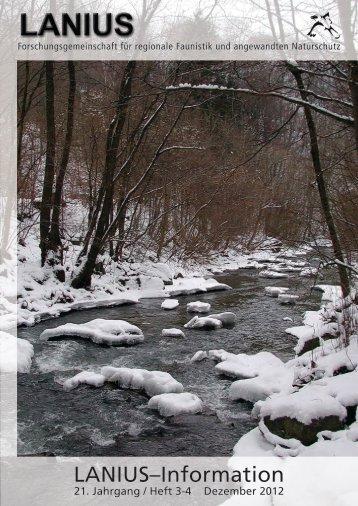 Heft 3-4 Dezember 2012 - LANIUS