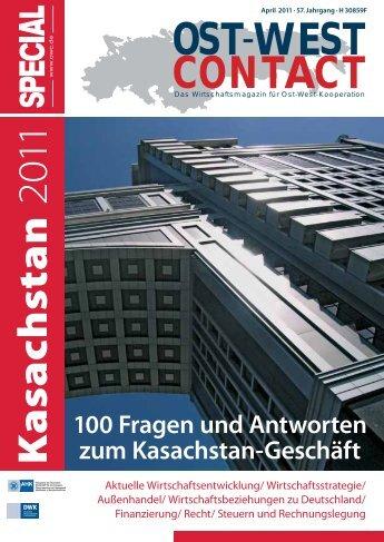 Artikel in der Zeitschrift OWC Special (April 2011) - Lansky Ganzger ...