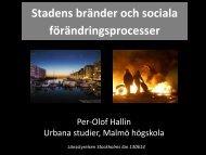 Per-Olof Hallin - Länsstyrelserna