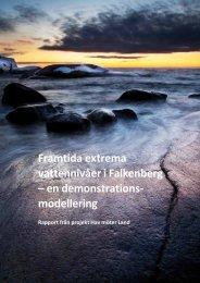 Framtida extrema vattennivåer i Falkenberg – en ... - Länsstyrelserna