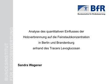 Analyse des quantitativen Einflusses der ... - LANUV NRW