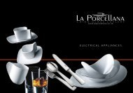 ELECTRICAL APPLIANCES - La Porcellana