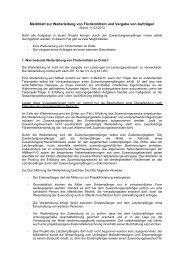 Merkblatt zur Weiterleitung von Fördermitteln und Vergabe von ...